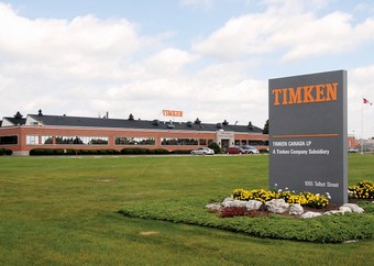 Timken plant