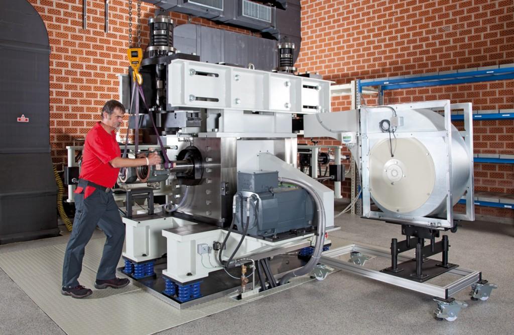 axlebox test facility